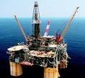 north sea offshore rig