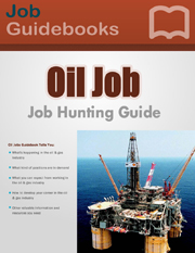 oil and gas industry job guide